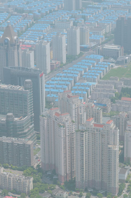 Shanghai, Pudong, habitations - Shanghai, Pudong, housing buildings